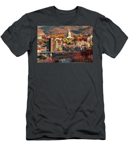 Charleston And Wv Capitol Men's T-Shirt (Athletic Fit)