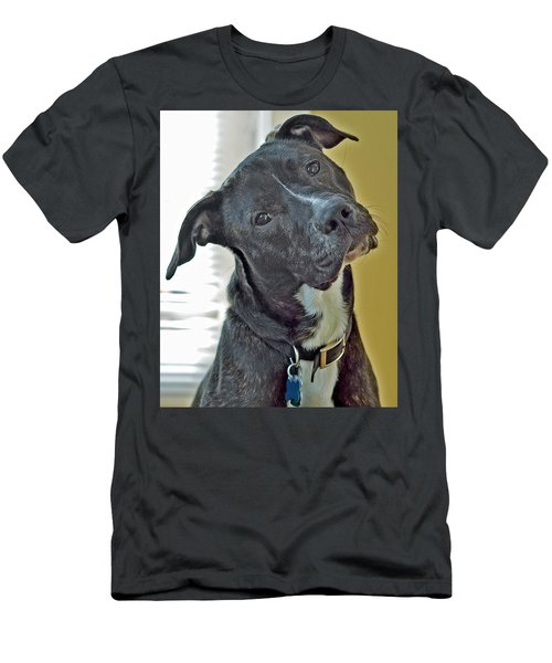 Men's T-Shirt (Slim Fit) featuring the photograph Charlie by Lisa Phillips