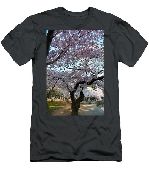 Cherry Blossoms 2013 - 044 Men's T-Shirt (Athletic Fit)