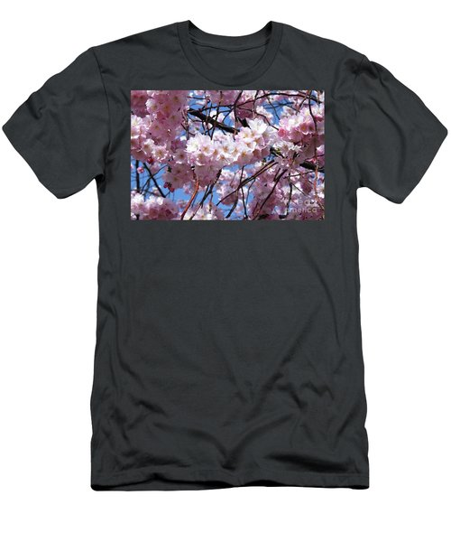 Cherry Blossom Trees Of Branch Brook Park 3 Men's T-Shirt (Athletic Fit)