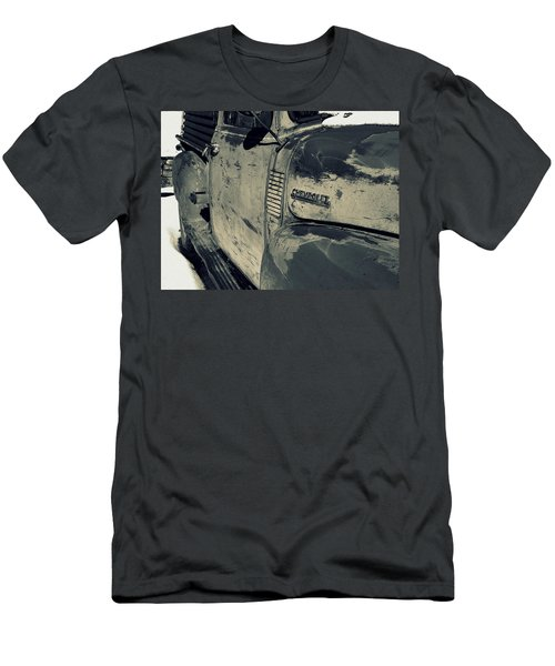 Arroyo Seco Chevy In Silver Men's T-Shirt (Athletic Fit)