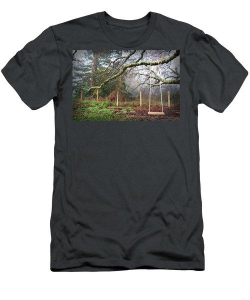 Childhood Swing Men's T-Shirt (Athletic Fit)