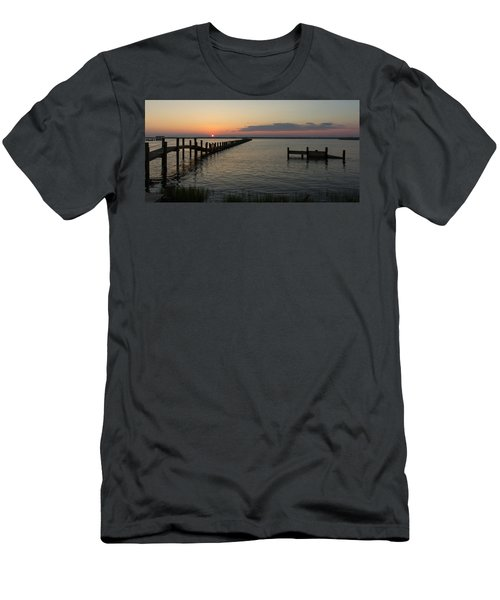 Chincoteague Island Sunset Men's T-Shirt (Athletic Fit)