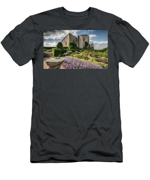 Castle Clock Men's T-Shirt (Athletic Fit)