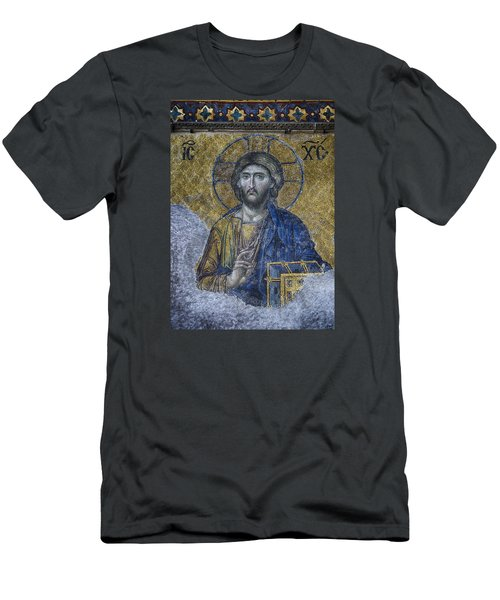 Christ Pantocrator IIi Men's T-Shirt (Athletic Fit)