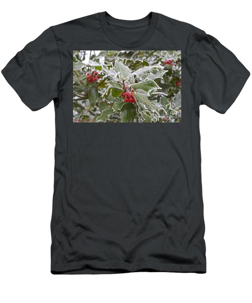 Christmas Greetings Men's T-Shirt (Athletic Fit)