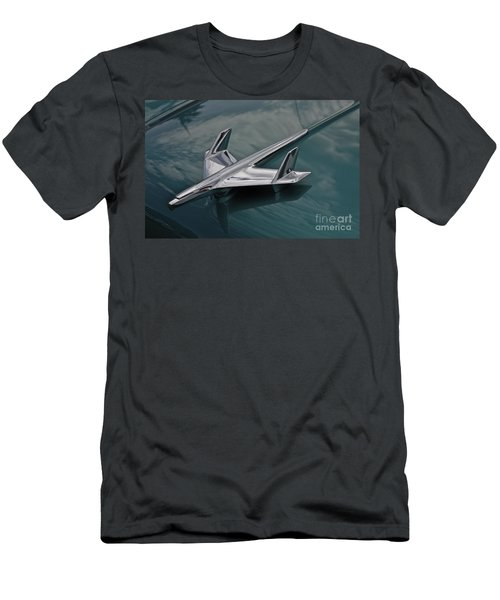 Chrome Airplane Hood Ornament Men's T-Shirt (Athletic Fit)