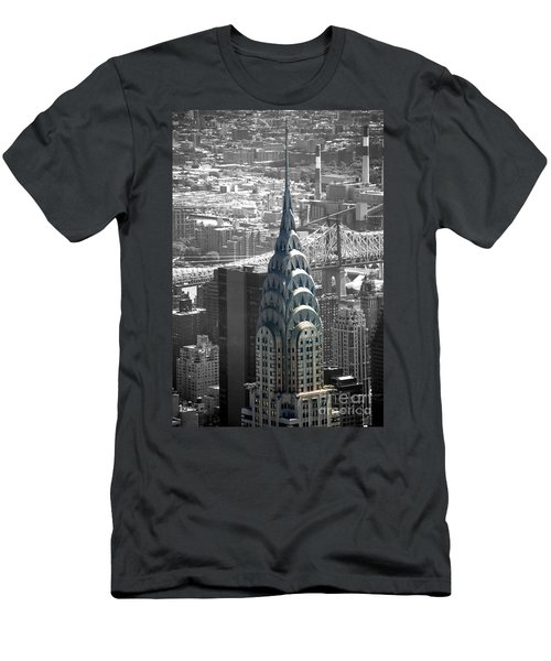 Chrysler Building Men's T-Shirt (Athletic Fit)