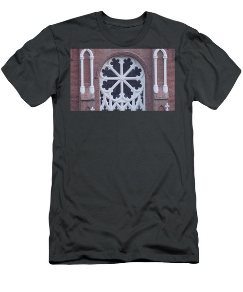 Church Rose  Men's T-Shirt (Athletic Fit)