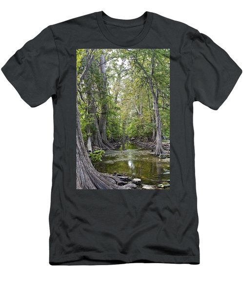 Cibolo Creek - 2 Men's T-Shirt (Athletic Fit)