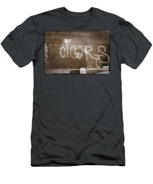Cigars Only Men's T-Shirt (Athletic Fit)