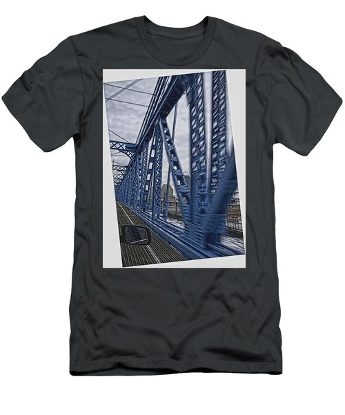 Cincinnati Bridge Men's T-Shirt (Athletic Fit)