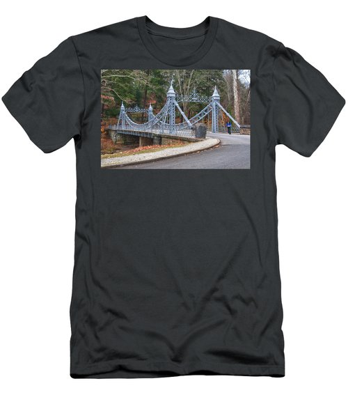 Cinderella Bridge Men's T-Shirt (Slim Fit) by Guy Whiteley
