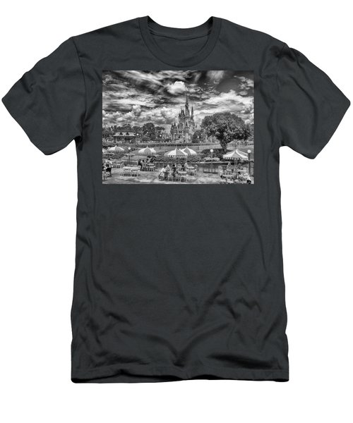 Men's T-Shirt (Athletic Fit) featuring the photograph Cinderella's Palace by Howard Salmon