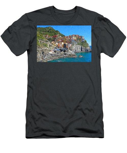 Cinque Terre Itl3403 Men's T-Shirt (Athletic Fit)
