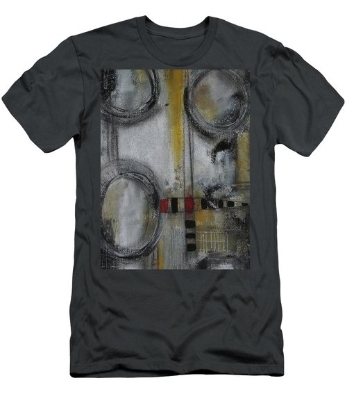 Circles Of Life Men's T-Shirt (Slim Fit) by Nicole Nadeau