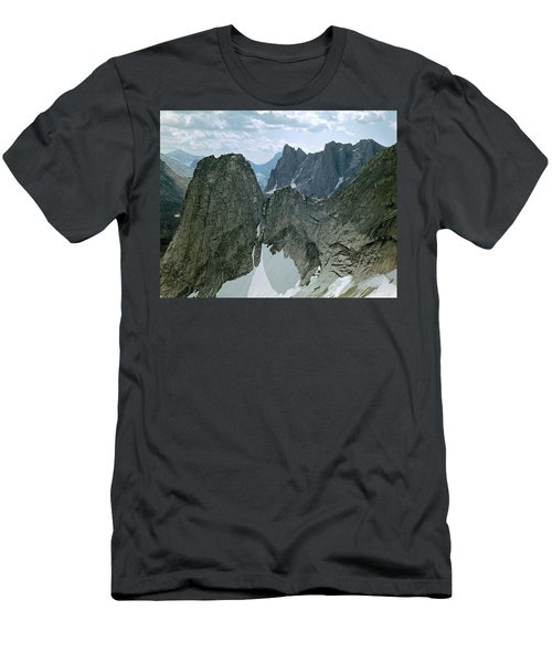 209615-cirque Of Towers, Wind Rivers, Wy Men's T-Shirt (Athletic Fit)