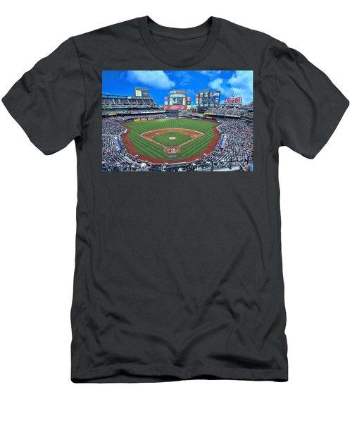 Citi Field Men's T-Shirt (Slim Fit) by Allen Beatty