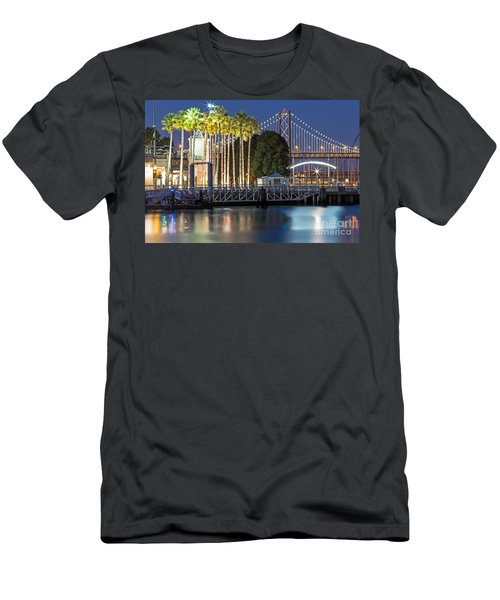 City Lights On Mission Bay Men's T-Shirt (Athletic Fit)