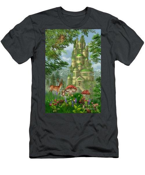 City Of Coins Men's T-Shirt (Athletic Fit)