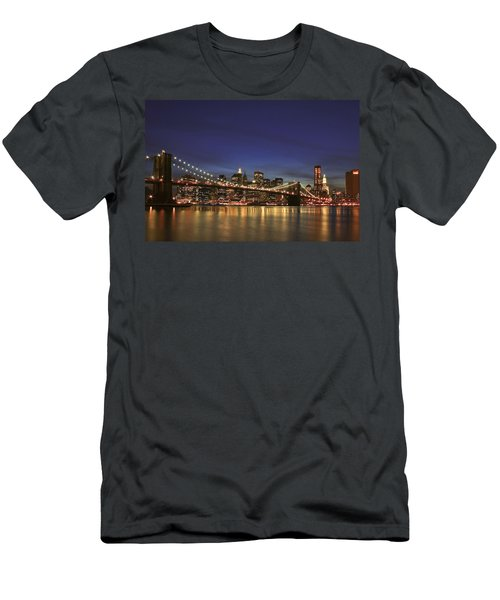 City Of Lights Men's T-Shirt (Athletic Fit)