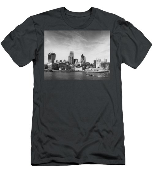 City Of London  Men's T-Shirt (Slim Fit) by Pixel Chimp