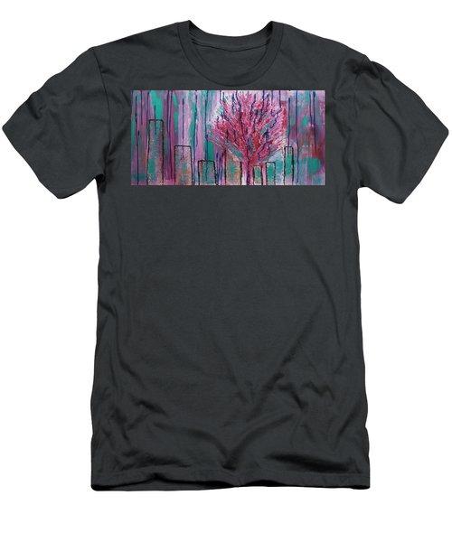 City Pear Tree Men's T-Shirt (Athletic Fit)