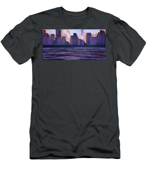 City Sunset Men's T-Shirt (Athletic Fit)