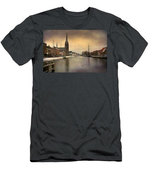 Cityscape Men's T-Shirt (Athletic Fit)