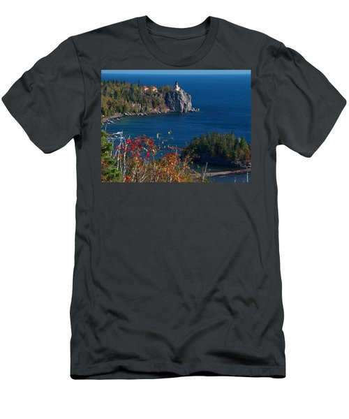 Cliffside Scenic Vista Men's T-Shirt (Athletic Fit)