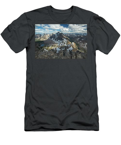 Climbing The 10 Peaks Men's T-Shirt (Athletic Fit)