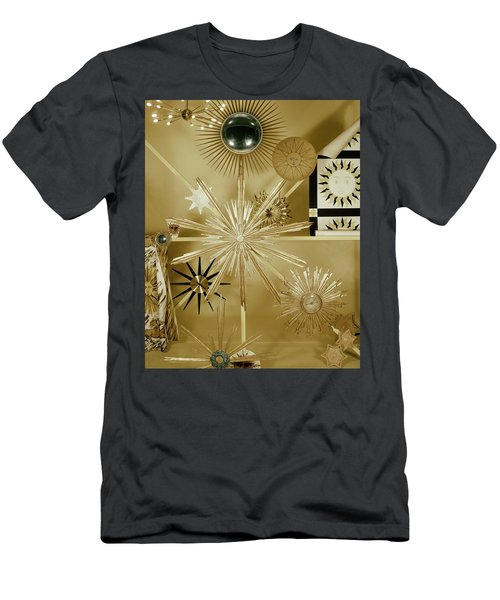 Clocks Hanging On The Wall Men's T-Shirt (Athletic Fit)