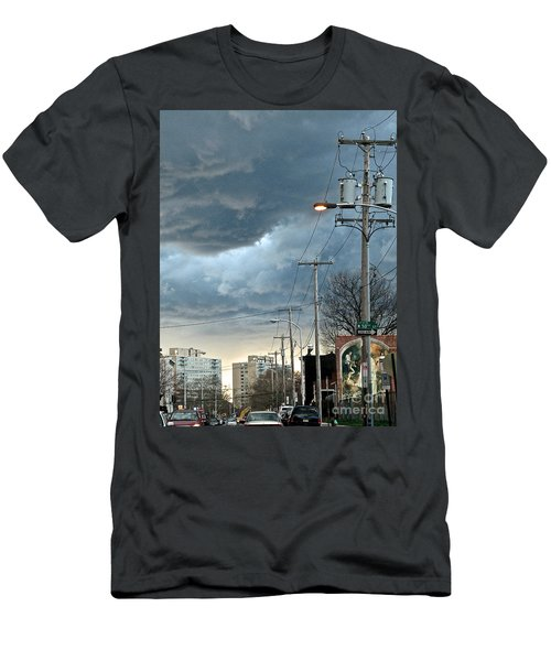 Clouds Over Philadelphia Men's T-Shirt (Athletic Fit)