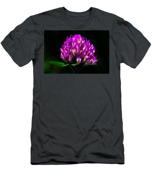 Clover Flower Men's T-Shirt (Athletic Fit)