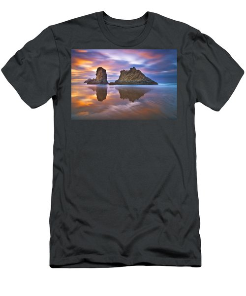 Coastal Cloud Dance Men's T-Shirt (Athletic Fit)