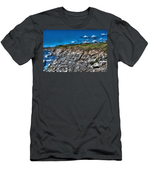 Men's T-Shirt (Slim Fit) featuring the photograph Coastal Nova Scotia by Joe  Ng