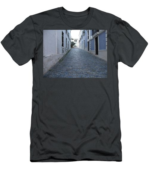 Men's T-Shirt (Slim Fit) featuring the photograph Cobble Street by David S Reynolds