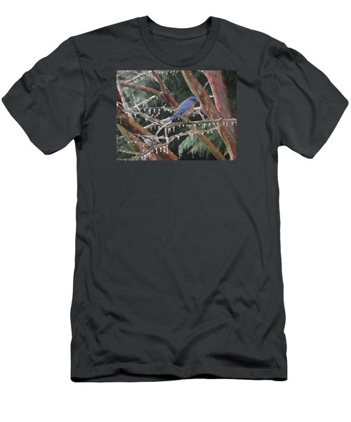 Cold And Blue Men's T-Shirt (Athletic Fit)