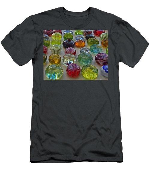 Color Dots Men's T-Shirt (Athletic Fit)