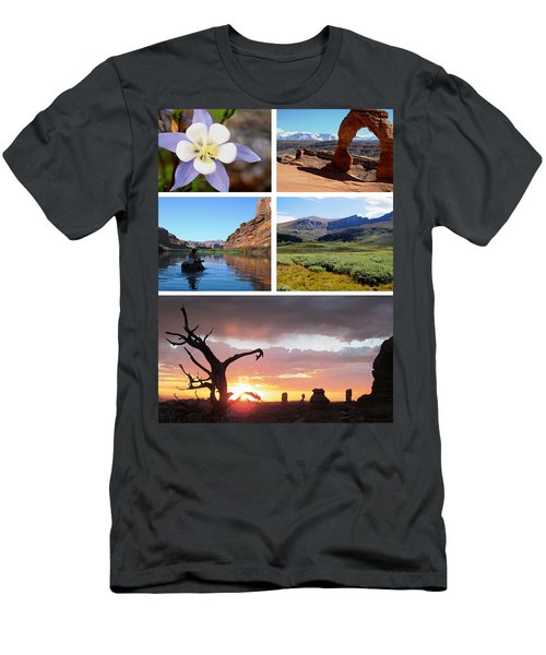 Colorado Utah Calendar 2018 Men's T-Shirt (Athletic Fit)