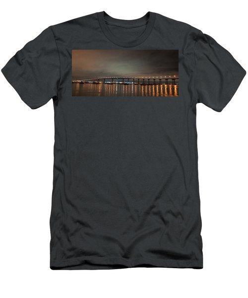 Coronado Bridge San Diego Men's T-Shirt (Athletic Fit)