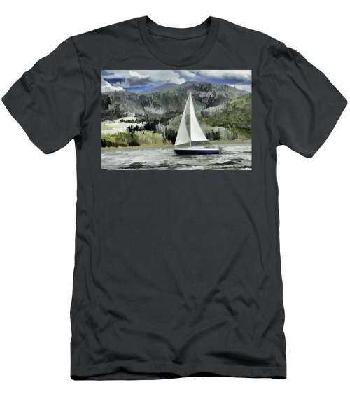 Colorado By Wind Men's T-Shirt (Athletic Fit)