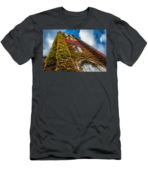 Colorful Bell Tower Men's T-Shirt (Athletic Fit)