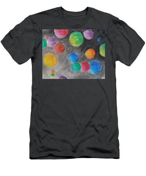 Colorful Orbs Men's T-Shirt (Athletic Fit)