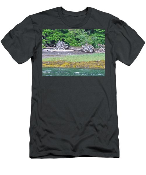 Colors Of Alaska - Layers Of Greens Men's T-Shirt (Athletic Fit)
