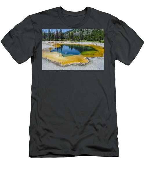 Colors Of Yellowstone Men's T-Shirt (Athletic Fit)