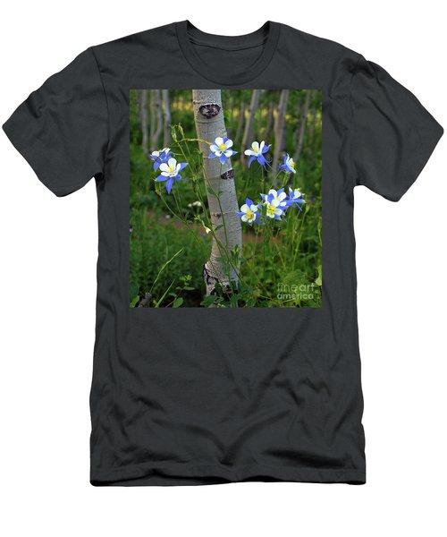 Columbouquet Men's T-Shirt (Athletic Fit)