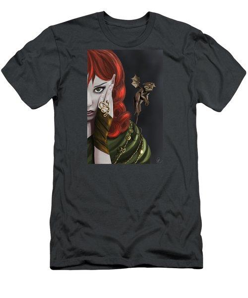 Companions Men's T-Shirt (Slim Fit) by Kate Black