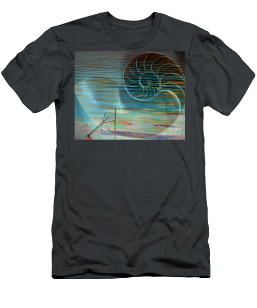 Men's T-Shirt (Slim Fit) featuring the photograph Conch by Irma BACKELANT GALLERIES