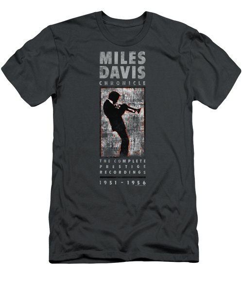 Concord Music - Miles Silhouette Men's T-Shirt (Athletic Fit)